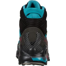 La Sportiva Ultra Raptor II Mid GTX Shoes Women, zwart/turquoise